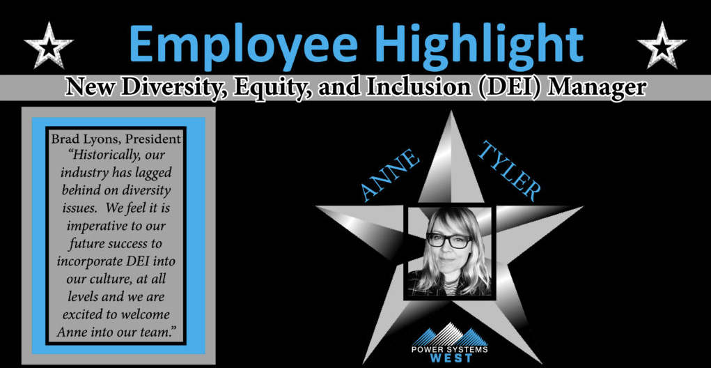 New Diversity, Equity and Inclusion Manager – Anne Tyler
