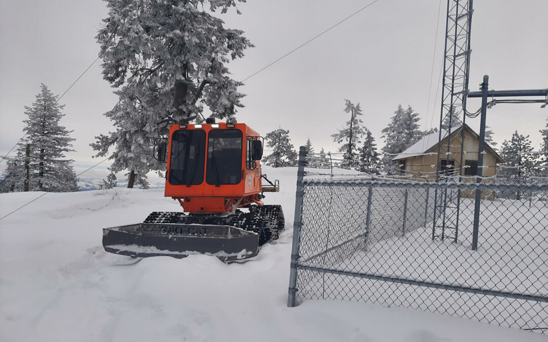 What Does Brad Brown's Snowcat Ride Have To Do With Your Public Safety?