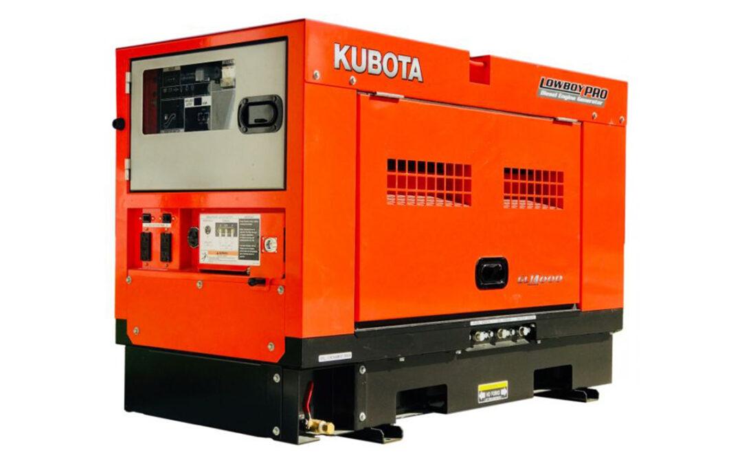 Power Systems West Product Spotlight: Kubota GL Series Generators