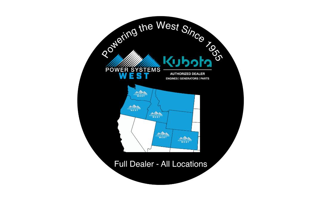 Power Systems West Named Kubota Generator Dealer
